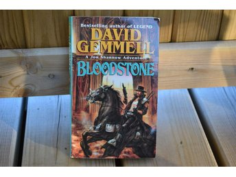 Bloodstone - David Gemmell Pocket (Jon Shannow Adventure) 1997 Nyskick