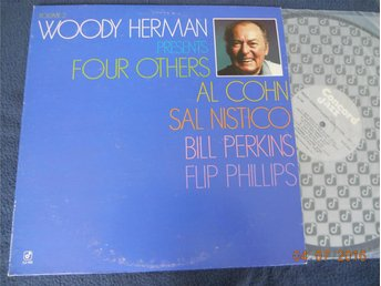WOODY HERMAN presents Four Others VOL. 2, Concord Jazz LP USA '82 Al Cohn