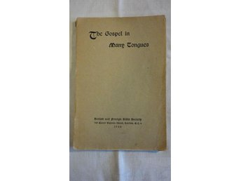 1930 The Gospel in many tongues