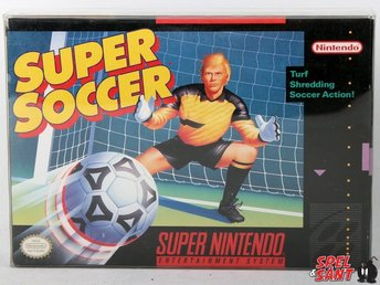 Super Soccer (inkl. Skyddsbox & Amerikansk Version)