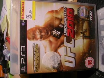 PS3 spel UFC Undisputed 2010