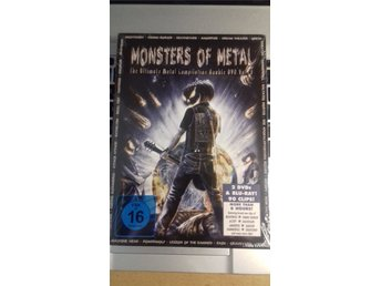 Monsters Of Metal (The Ultimate Metal Comp. Vol. 8) - 2DVD+BD - 2012 - NY/Inpl.