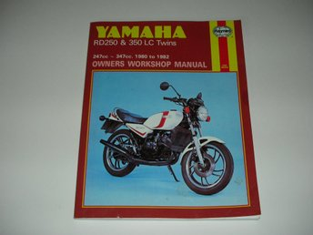 Yamaha RD250 & 350 LC Twins 1980 to 1982 - Haynes Workshop Manual - Begagnad