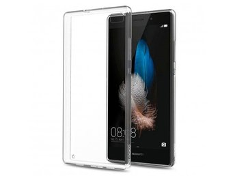 Huawei P8 Lite Ultratunn TPU Skal Simple® Färg: Transparent