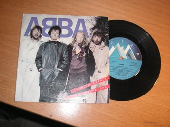 ABBA Under attack/You owe me one Svensk 45/ps 1982