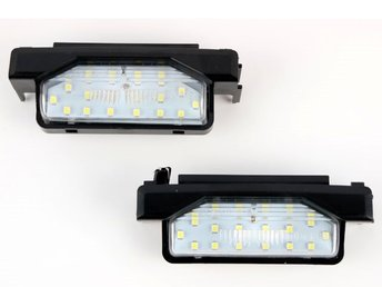 Mazda 6  09-15 Led skyltbelysning styling led 2-pack