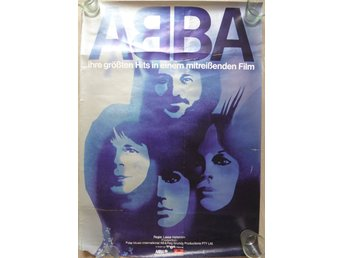 Big rolled Abba Poster -10-
