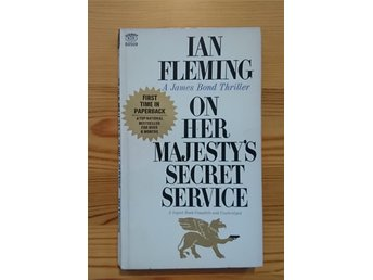 Ian Fleming / James Bond 007 - On Her Majesy's Secret 1964 - Signet USA OU 1st