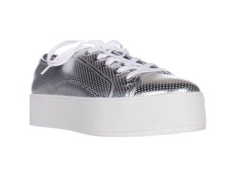 Betsey Johnson Spur Sneakers Silver 39 EU