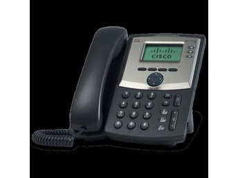 Cisco IP-telefon / bordstelefon SPA 303 inkl Jabra headset