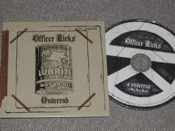 Officer Kicks - Underrub CD Singel PROMO