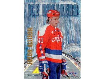 1994-95 Pinnacle 474 Jason Allison IB Washington Capitals Rink Collection