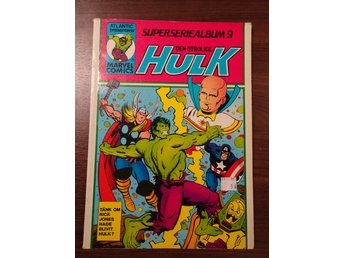 Den Otrolige Hulk Superseriealbum 9 Marvel Comics