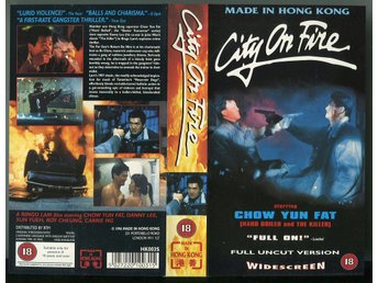 City on fire från 1987 av Ringo Lam med Chow Yun-Fat etc