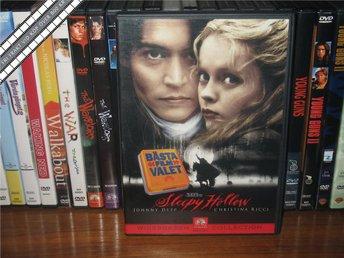 SLEEPY HOLLOW - Johnny Depp - Tim Burton *UTGÅNGEN DVD* - Svensk text - åmål - SLEEPY HOLLOW - Johnny Depp - Tim Burton *UTGÅNGEN DVD* - Svensk text - åmål