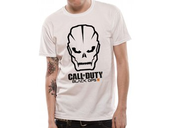 CALL OF DUTY BLACK OPS 3 - SKULL WITH LOGO T-Shirt (UNISEX) - L