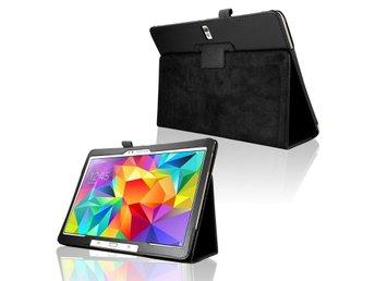 Samsung Galaxy Tab S 10.5 Fodral/Skydd/Skal/Väska Läder - Karlstad - Samsung Galaxy Tab S 10.5 Fodral/Skydd/Skal/Väska Läder - Karlstad