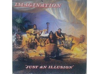 "Imagination title* Just An Illusion* Disco 7"" SWE"