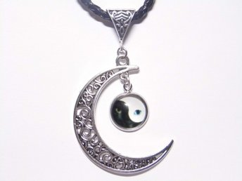 Katt Ying Yang Halsband / Cat Necklace