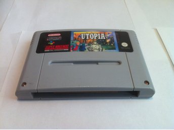 SNES: Utopia (End kassett OBS!! Tysk text!!)
