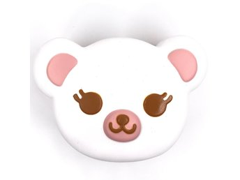 Original ibloom tea time bear squishy white colour soft slow rising toys scent