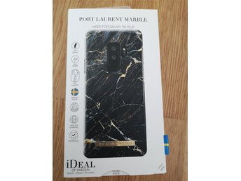 iDeal of Sweden skal, passar Samsung Galaxy S9 plus. Port Laurent Marble.