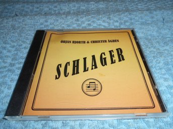 Örjan Hjorth Christer Ågren - Schlager (CD) NM/EX