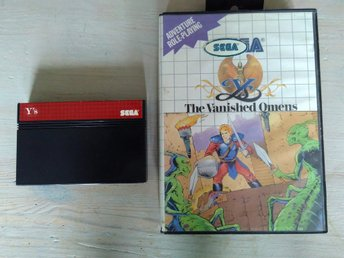 Ys: The Vanished Omens - Sega Master System