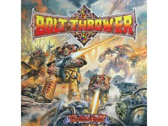 Bolt thrower -Realm of chaos LP 2017 re-issue black vinyl