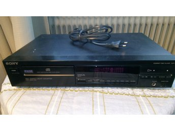 SONY COMPACT DISC PLAYER CDP 297.