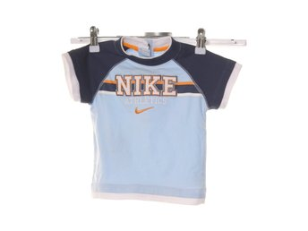 Nike, T-shirt, Strl: 12m, Blå/Orange/Vit
