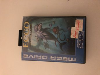 Ecco The tides of time Sega Mega drive