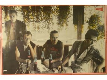 Poster av the Clash (från skivan Combat rock)