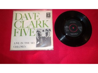 "The Dave Clark Five ""Live in the sky""  singel"