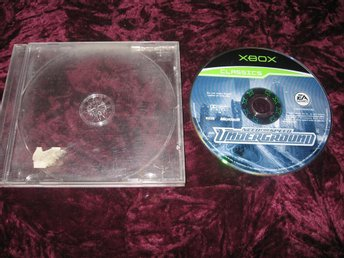 NEED FOR SPEED UNDERGROUND (X-BOX)EJ MANUAL EJ FODRAL