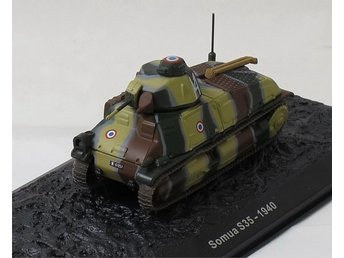 Somua S.35 - French tank 1940 - 1/72 scale!