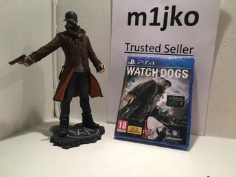 Watch Dogs: Aiden Pearce Execution figurine - Stockholm - Watch Dogs: Aiden Pearce Execution figurine - Stockholm