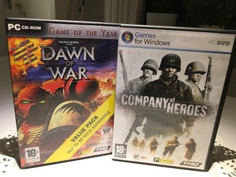 Company of heroes (inkl Warhammer 40k Dawn of War)