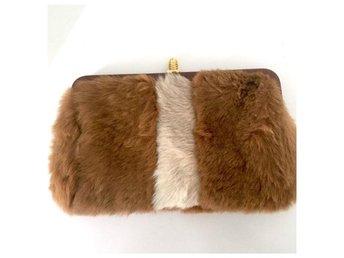 Vintage clutch i äkta skinn 70-tal - Sollentuna - Vintage clutch i äkta skinn 70-tal - Sollentuna