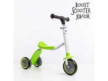 Scooter-trehjuling Boost Junior 2-i-1 (3 hjul), en kul och mångsidig leksak - Täby - Scooter-trehjuling Boost Junior 2-i-1 (3 hjul), en kul och mångsidig leksak - Täby