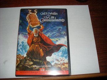 the ten commandments cecil b demille charlton heston yul brynner nm discs