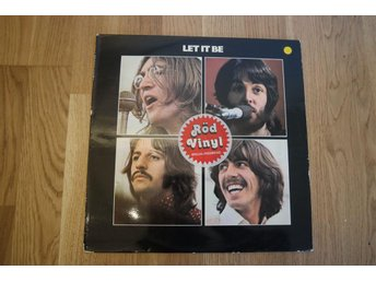 The Beatles 1978 Let It Be [red vinyl] RARE