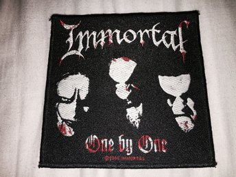 IMMORTAL TYGMÄRKE BLACK METAL