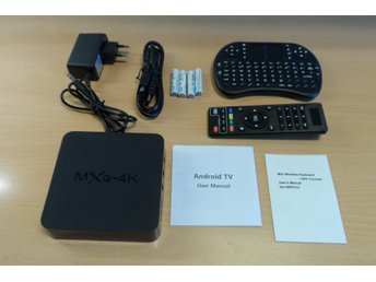 Smart TV Tillsats MXQ-4k