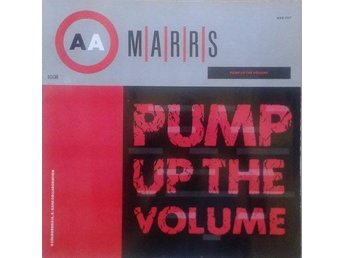 "M|A|R|R|S title* Pump Up The Volume* House, Breaks  12"" Scandinavia"