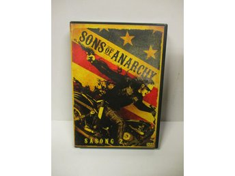 Sons of Anarchy - Säsong 2 (4 DISK) - FINT SKICK!