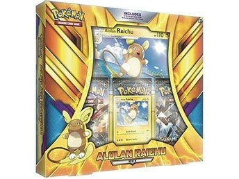 Pokemon Box Alolan Raichu