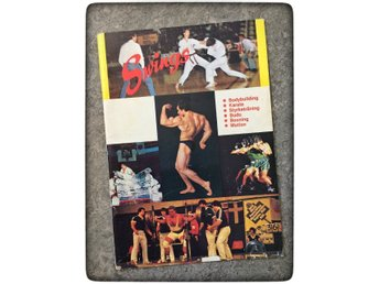 Swings gym katalog 1983 karate bodybuilding boxning styrkelyft retro Åsögatan