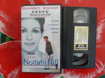 NOTTING HILL, KOMEDI, VHS, 118 MIN., FILM