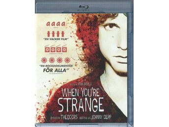 THE DOORS  - WHEN YOU´RE STRANGE ( BLU-RAY - SVENSKT )